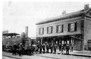 Album - groupe Saint-Gobain, le chemin de fer de Chauny à Saint-Gobain