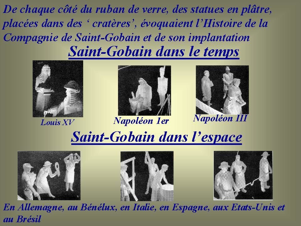 Album - groupe Saint-Gobain, le Tricentenaire, l'exposition au palais des sports à Paris