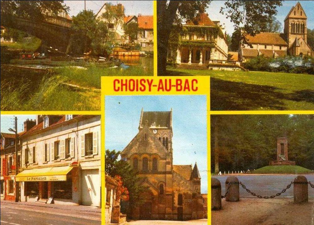 Album - le village de Choisy au Bac (Oise), au fil des mois au cours des années 1800 et 1900