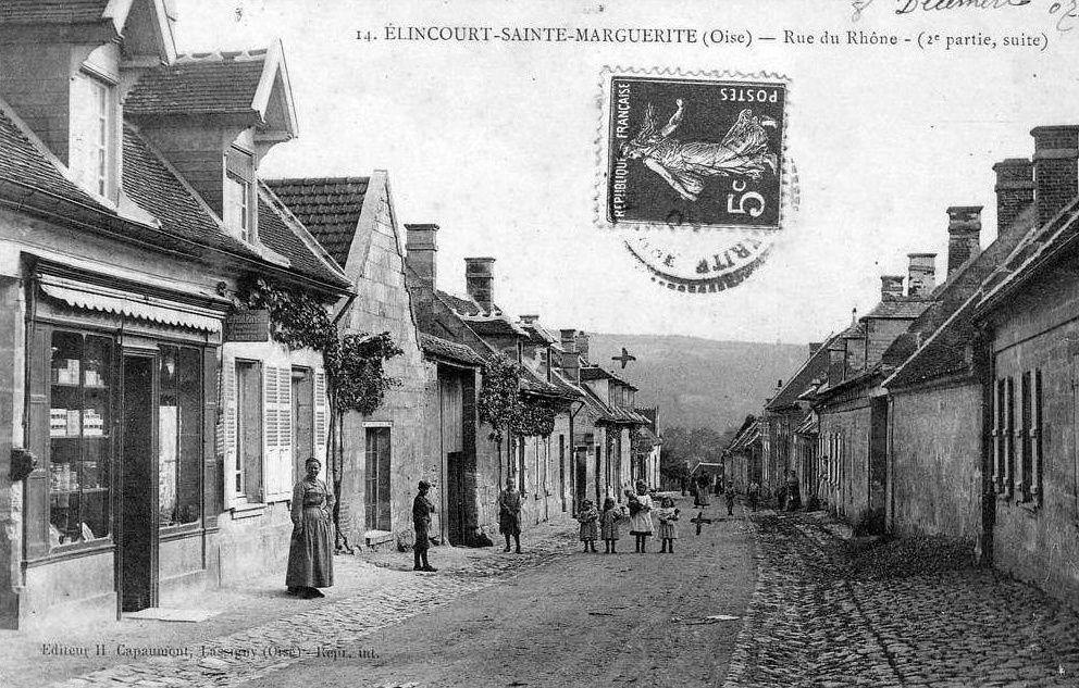 Album - le village de Elincourt sainte-Marguerite (Oise), les rues