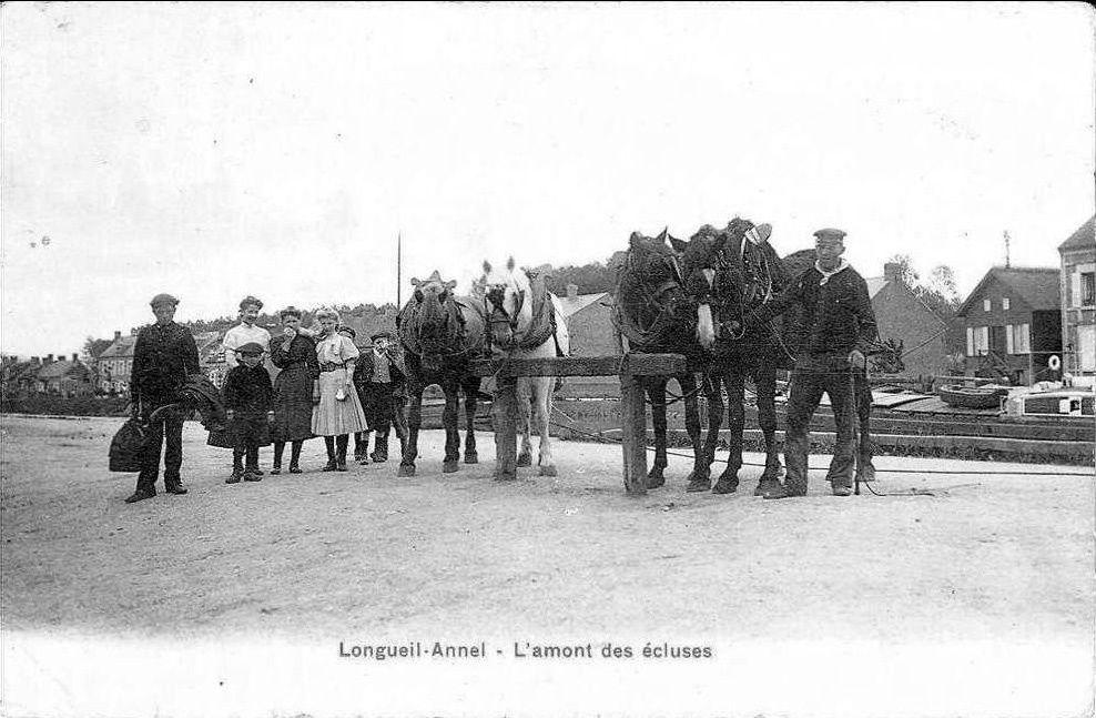 Album - le village de Longueil-Annel (Oise), les écluses