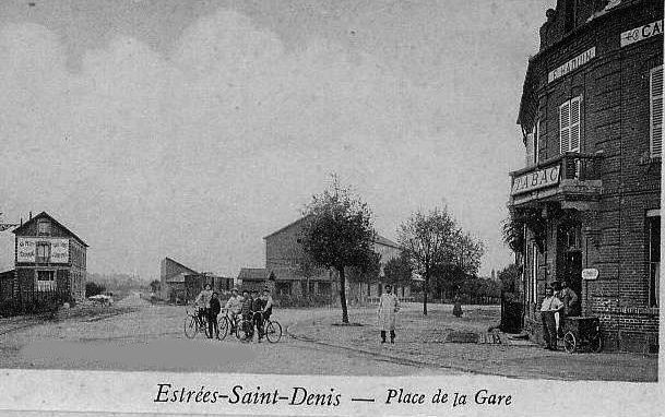 Album - le village de Estrees-Saint-Denis, les rues et places