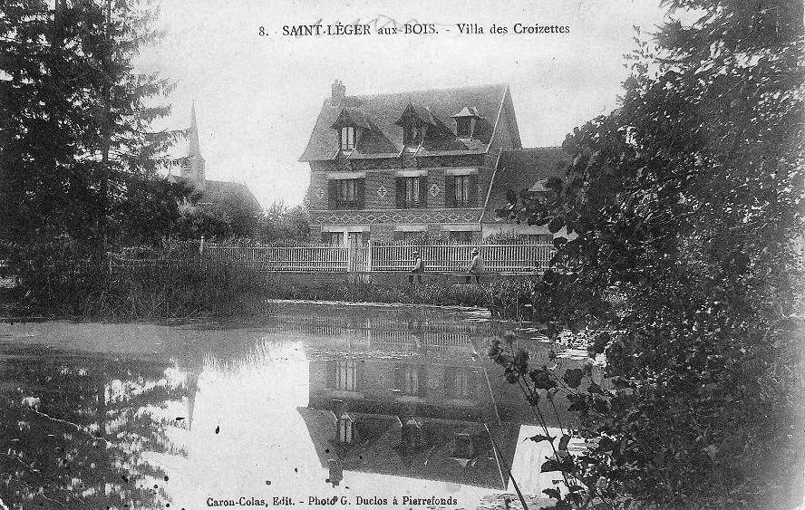 Album - le village de Saint-Léger-aux-Bois (Oise), le puits d'Orléans,  la forêt, la chasse à courre