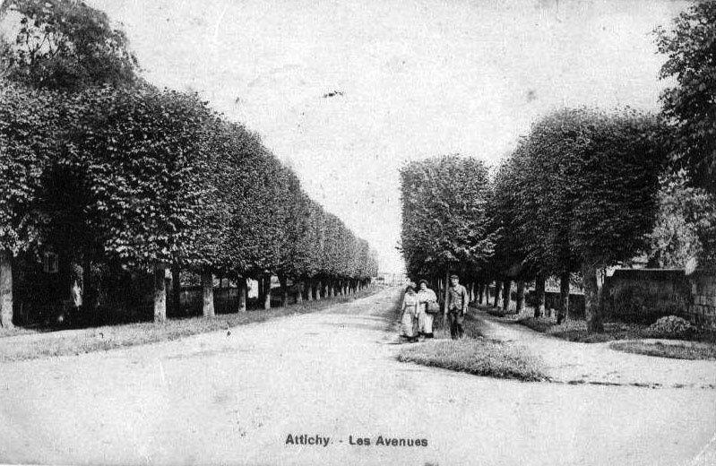 Album - le village d'Attichy (Oise), les rues