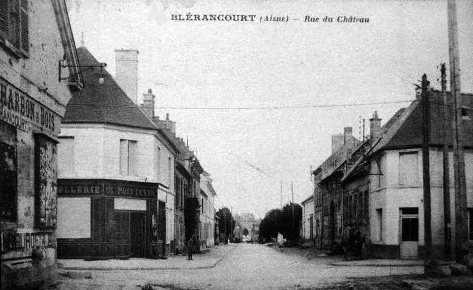 Album - le village de Blérancourt (Aisne), les rues