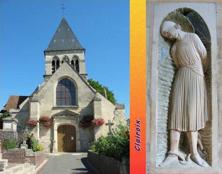 Album - le village de Clairoix (Oise), au fil des mois au cours des années 1800 et 1900