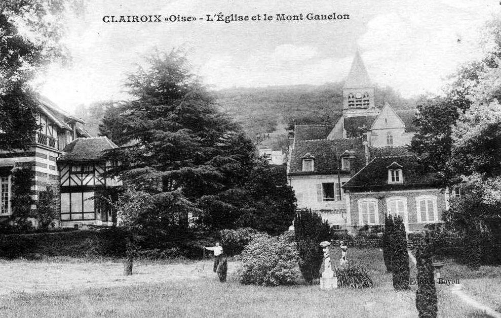 Album - le village de Clairoix (Oise), l'église, la gare, les rues, les places