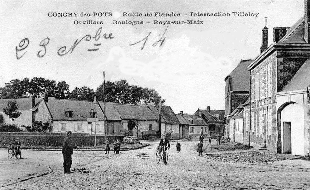 Album - le village de Conchy-les-Pots (Oise)