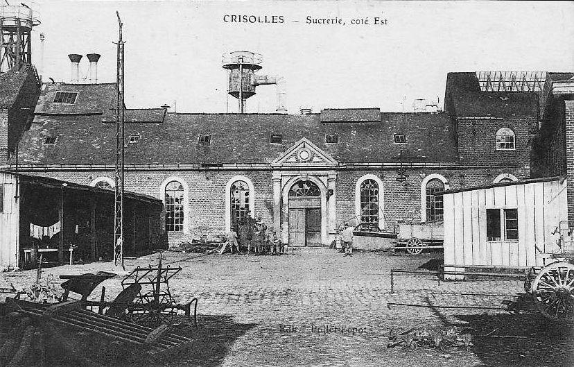 Album - le village de Crisolles (Oise), la sucrerie Poulin