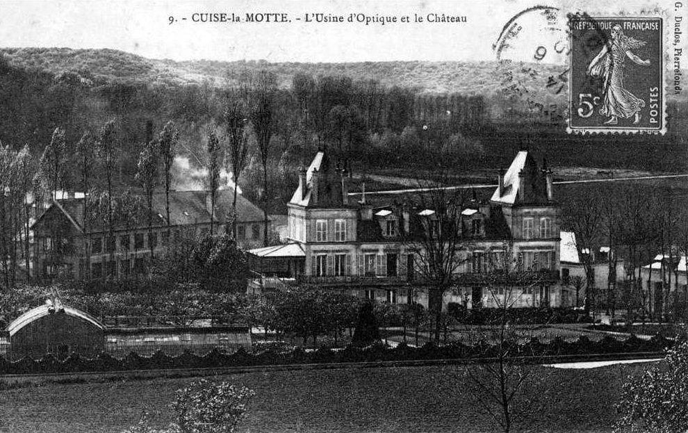 Album - le village de Cuise La Motte (Oise), le château et usines