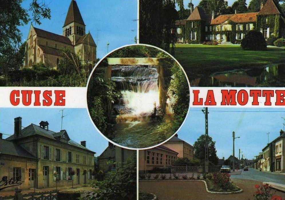 Album - le village de Cuise la Motte (Oise), le Moulin, le Ru de Vandy