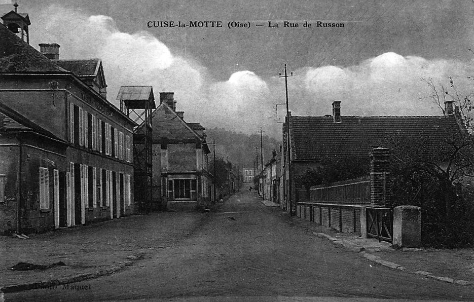 Album - le village de Cuise la Motte (Oise), les rues