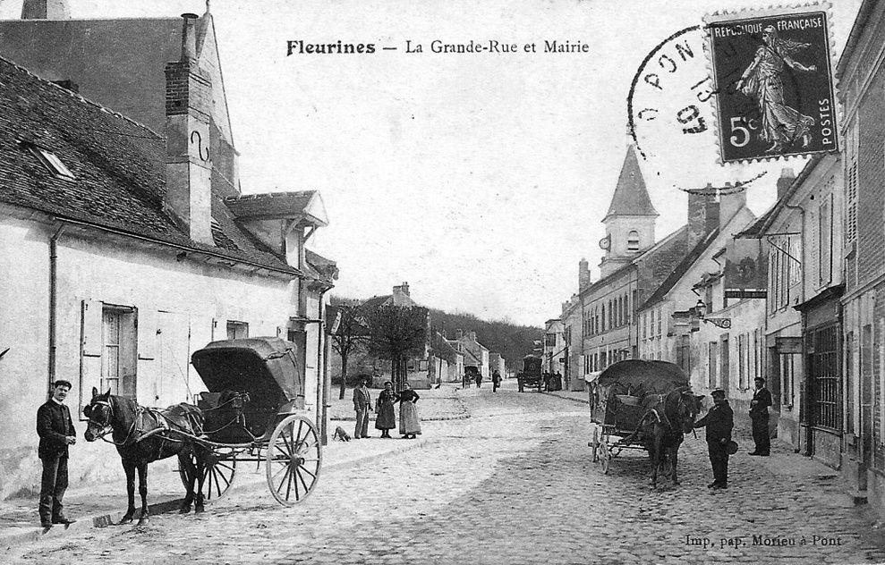 Album - le village de Fleurines (Oise)