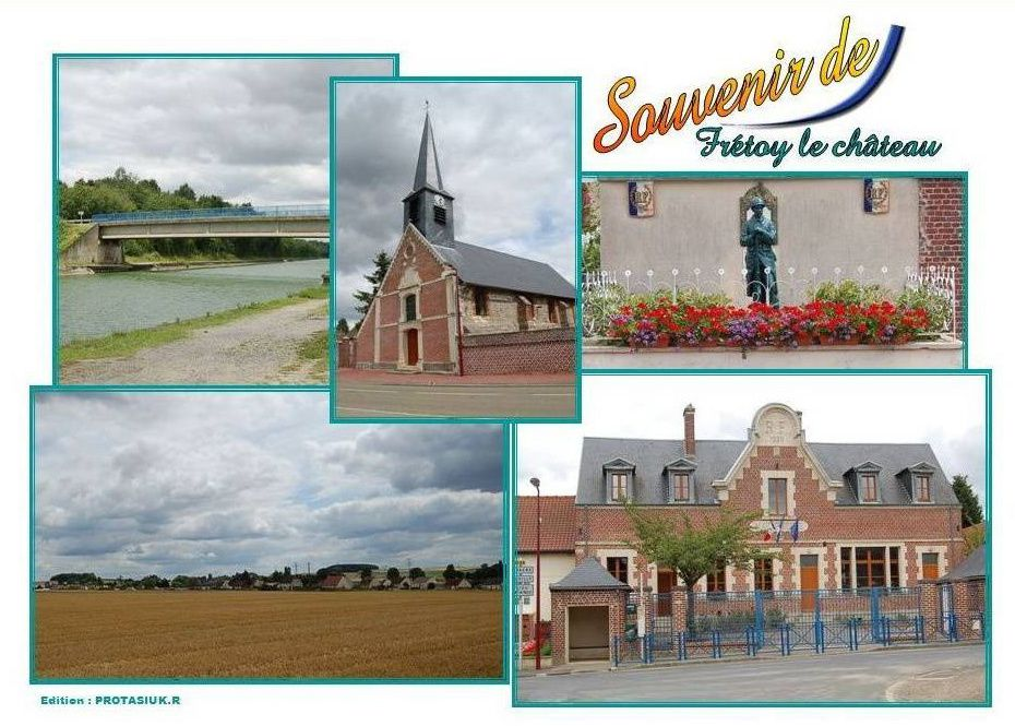Album - le village de Fretoy-le-Chateau (Oise)