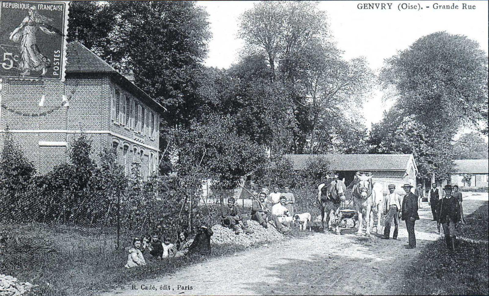 Album - le village de Genvry (Oise)