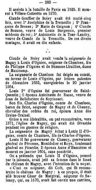 Album - le village de Guiscard (Oise), son Histoire