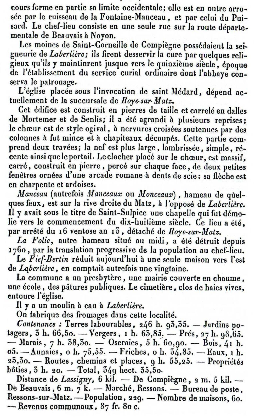 Album - le village de Laberliere (Oise)