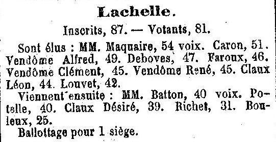 Album - le village de Lachelle (Oise)