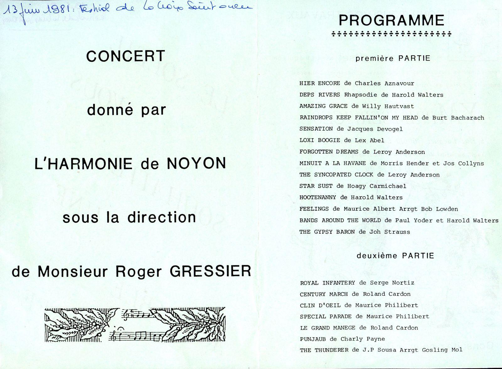 Album - le village de Lacroix st-Ouen (Oise), au fil des mois au cours des années 1800 et 1900