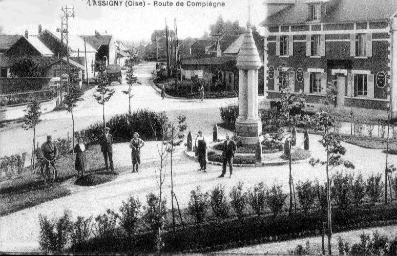 Album - le village de Lassigny (Oise), les rues