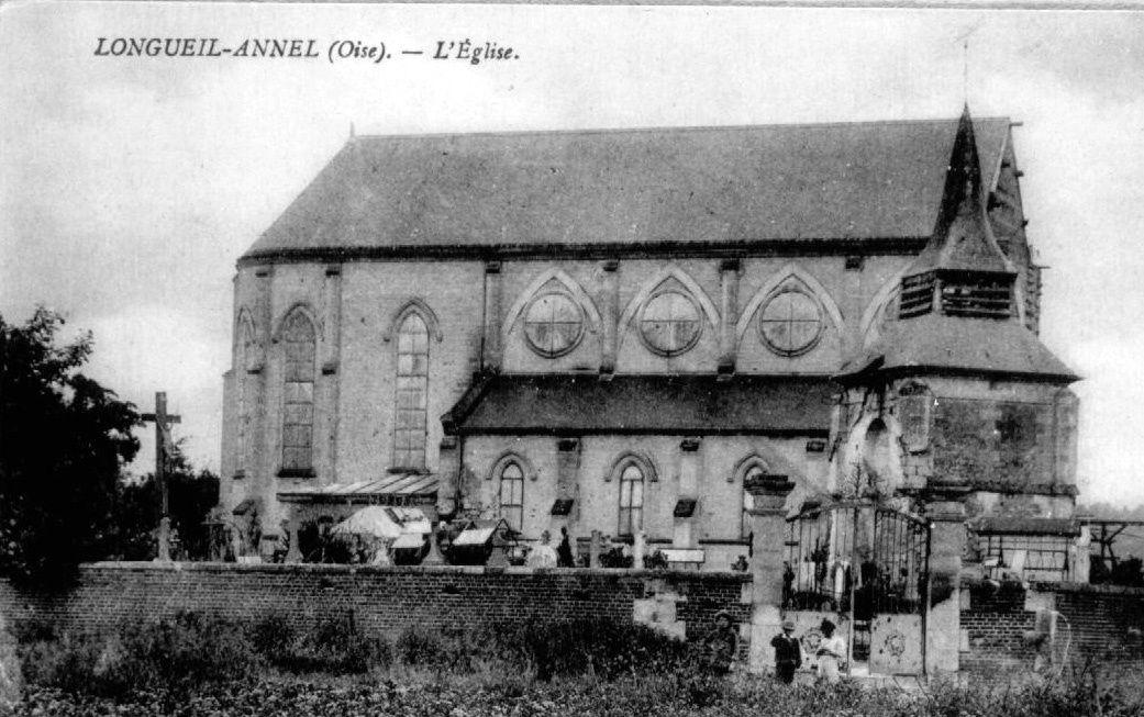 Album - le village de Longueil-Annel (Oise), la mairie, l'église