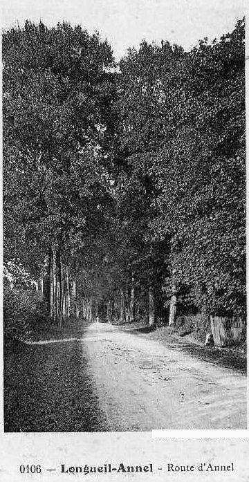 Album - le village de Longueil-Annel (Oise), les rues, les avenues, la route Nationale