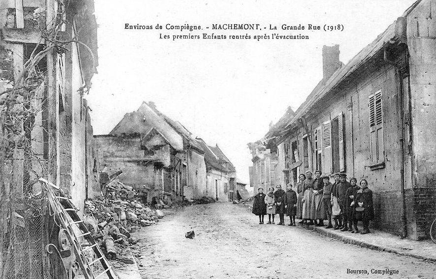 Album - le village de Machemont (Oise), les rues