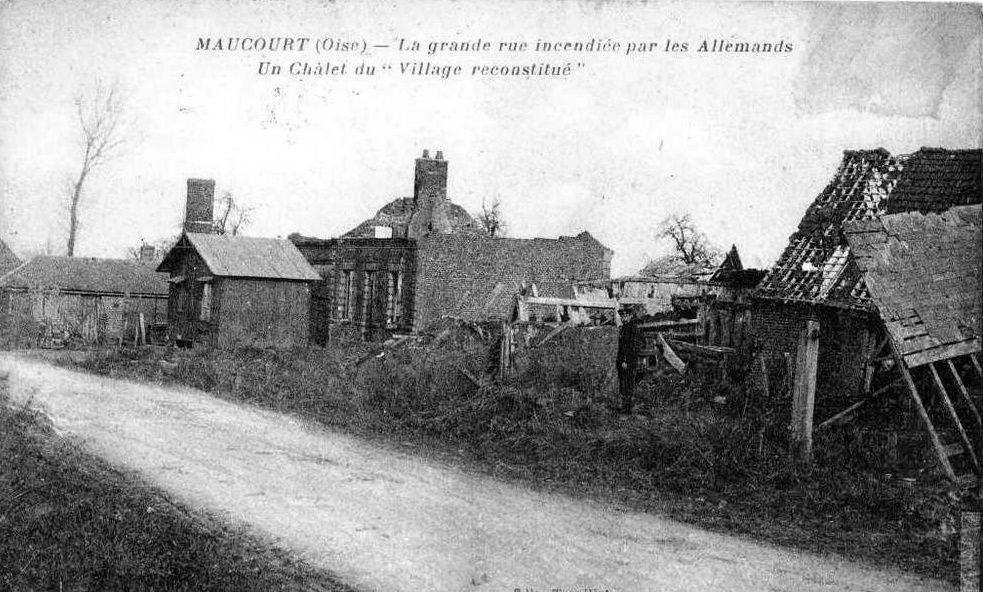 Album - le village de Maucourt (Oise)