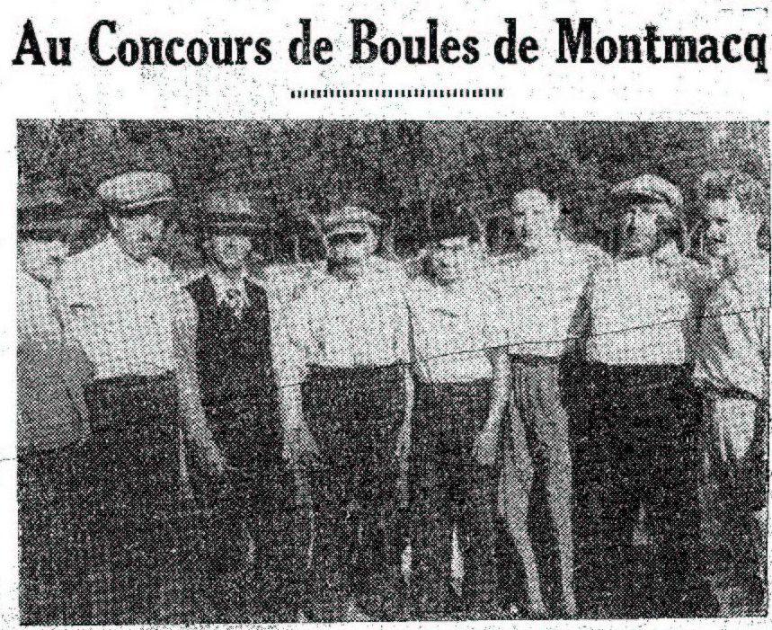 Album - le village de Montmacq (Oise), au fil des mois au cours des années 1800 et 1900