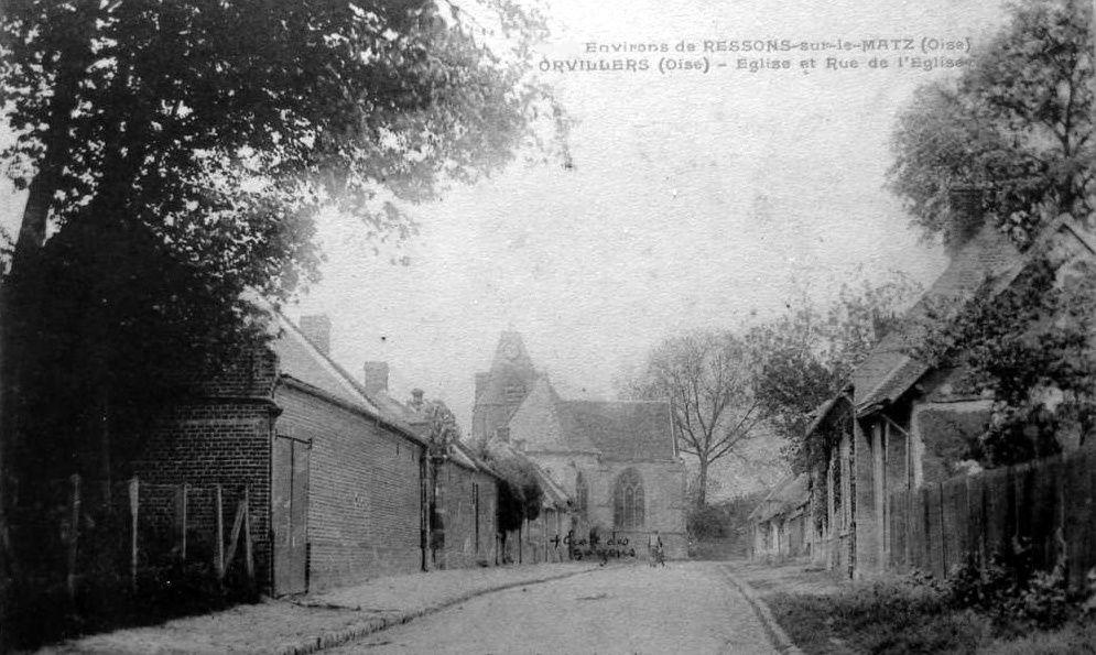 Album - le village de Orvillers Sorel (Oise)