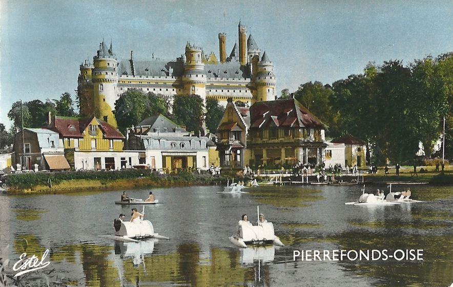 Album - le village de Pierrefonds (Oise), le château