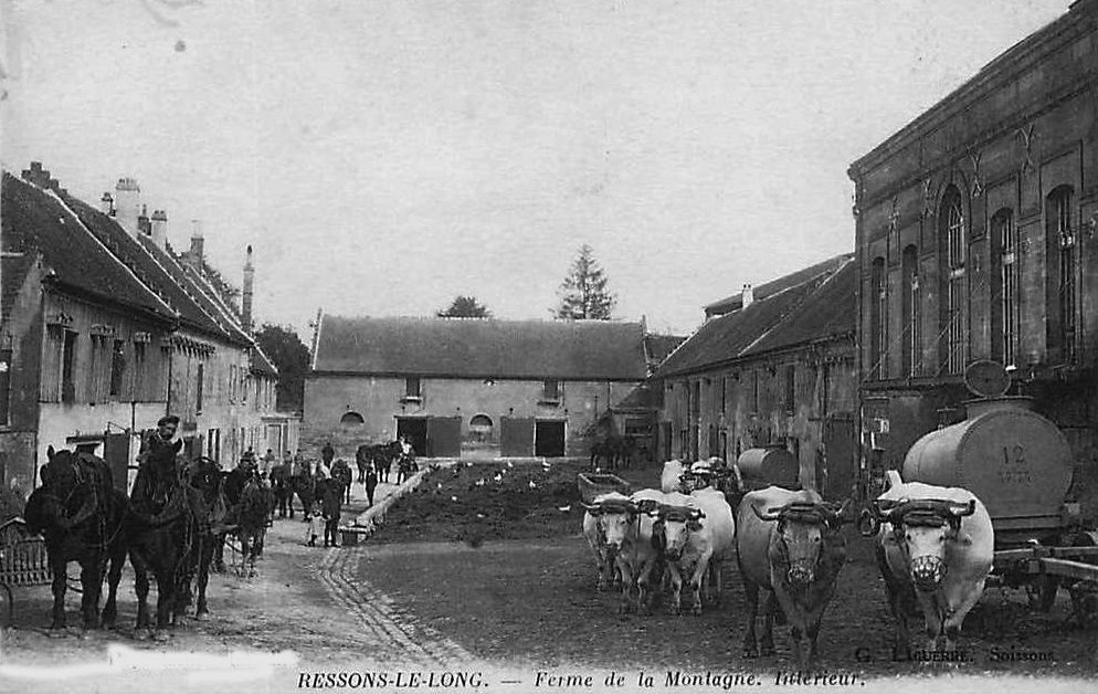 Album - le village de Ressons-Le-Long (Aisne)