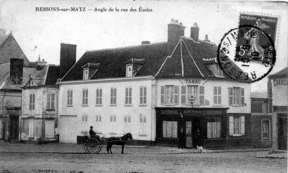 Album - le village de Ressons sur Matz (Oise), les rues et routes