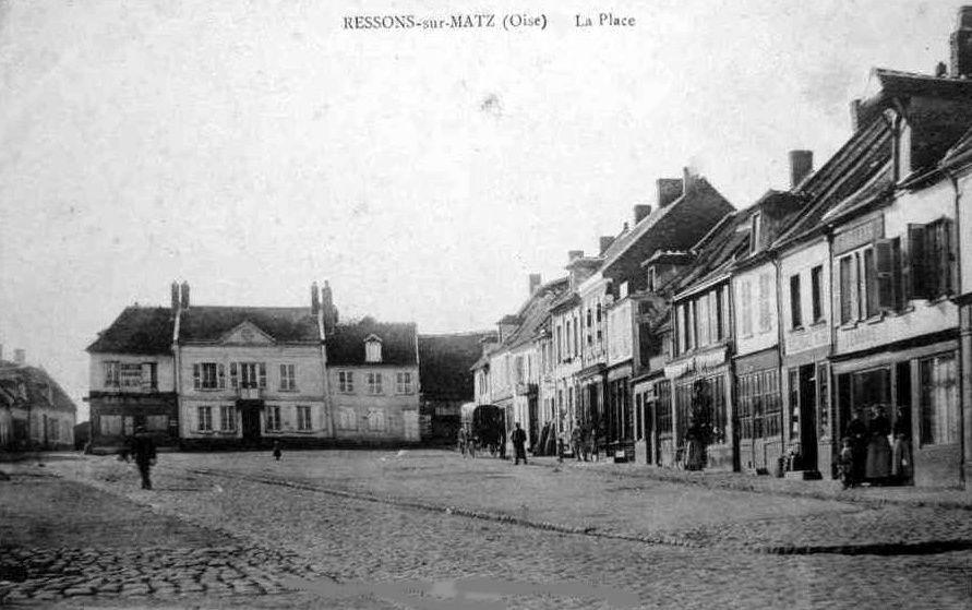 Album - le village de Ressons sur Matz (Oise), les places