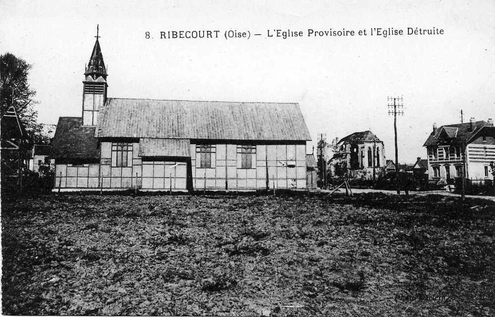 Album - le village de Ribécourt (Oise) l'église