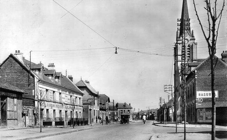 Album - le village de Ribécourt (Oise), les rues et routes