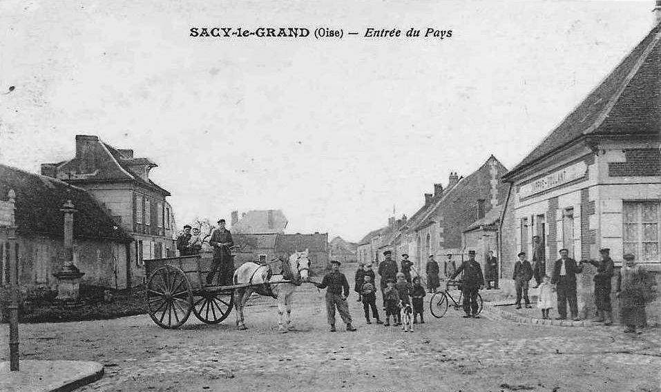 Album - le village de Sacy-le-Grand (Oise)