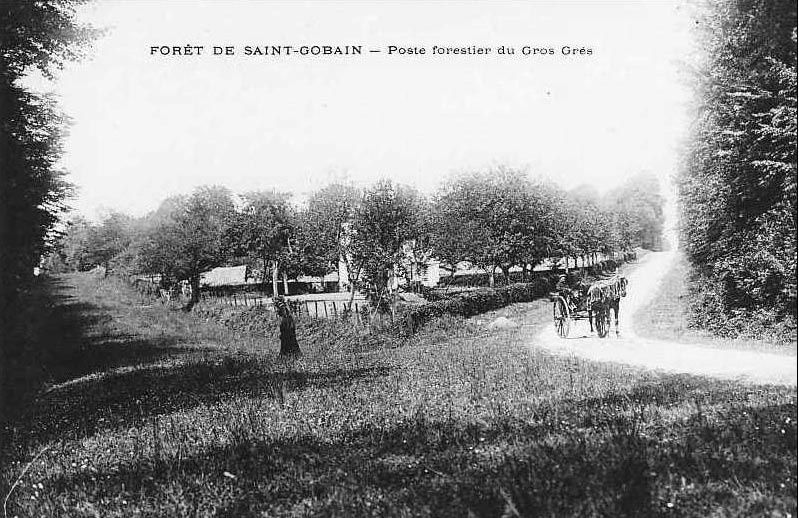 Album - le village de Saint-Gobain ( Aisne), différentes photos