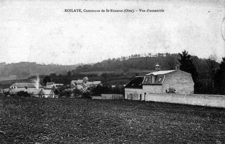 Album - le village de St-Etienne, Roilaye, (Oise)