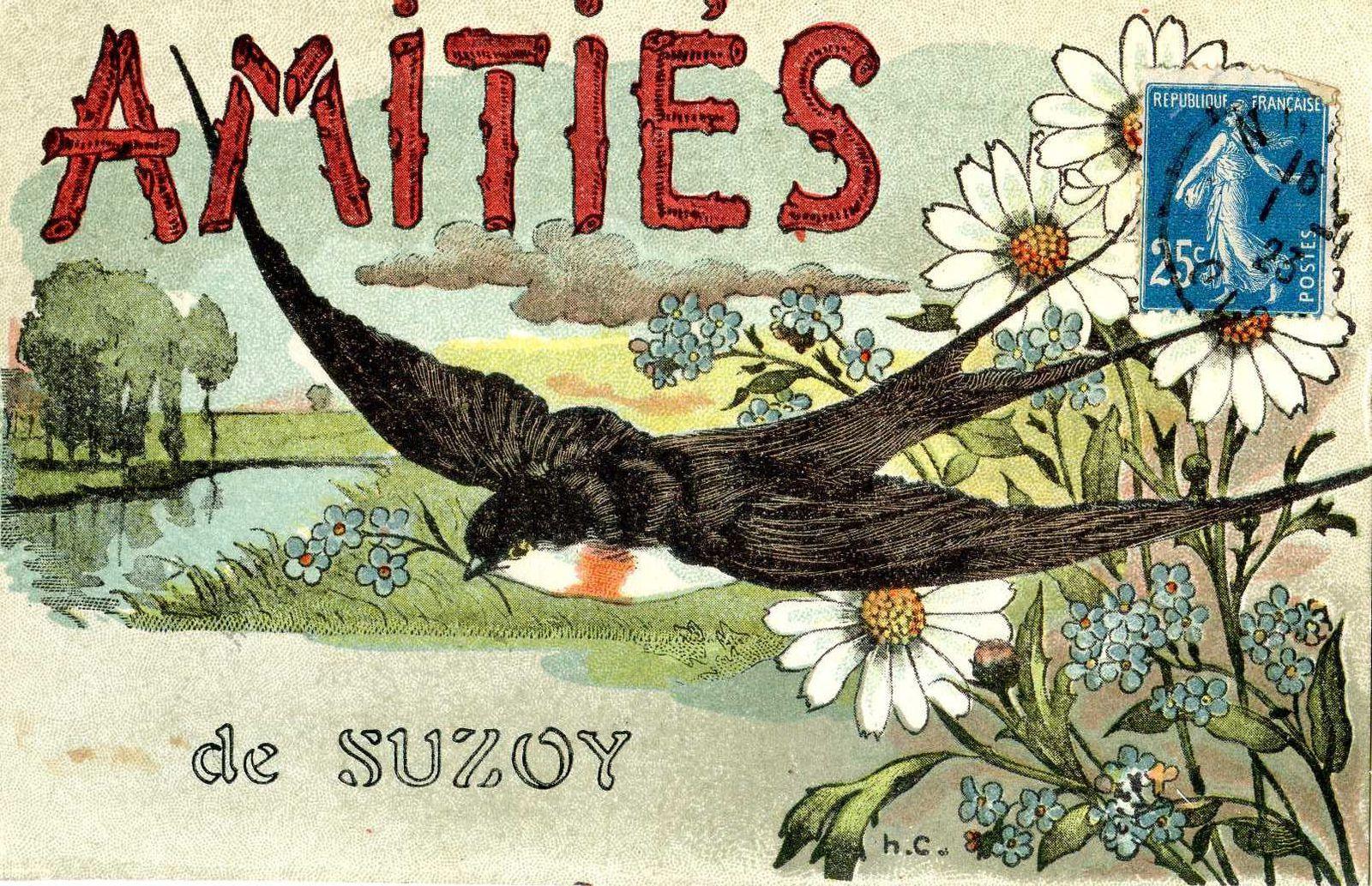 Album - le village de Suzoy (Oise), les cavalcades de 1952 et 1968