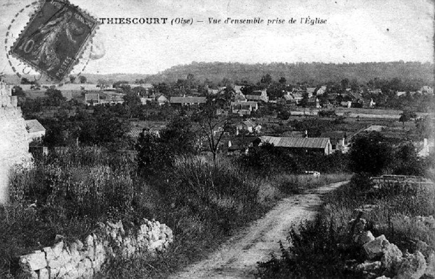 Album - le village de Thiescourt (Oise), la carriére Chauffour