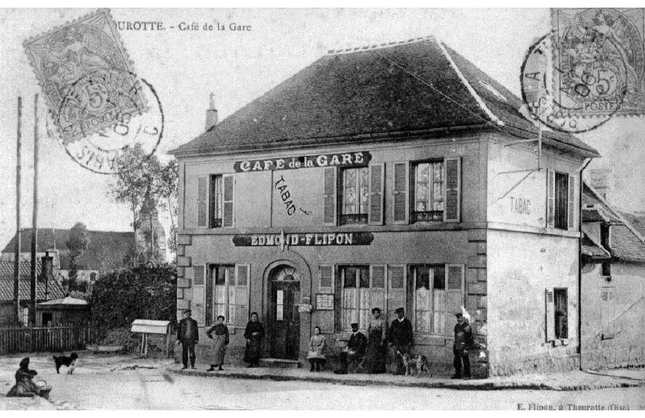 Album - le village de Thourotte (Oise), les commerces, l'église