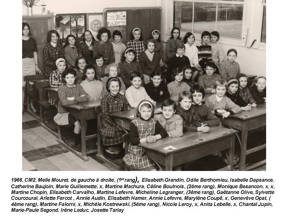 Album - le village de Thourotte (Oise), les écoles (1)