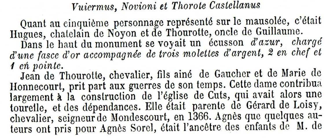 Album - le village de Thourotte (Oise), son Histoire, son évolution
