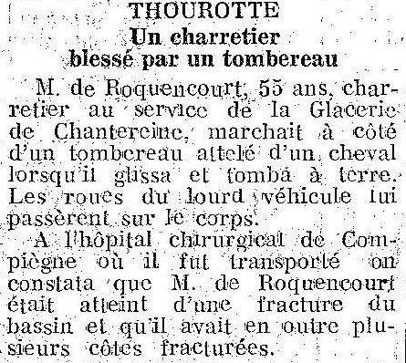 Album - le village de Thourotte (Oise), au fil des mois au cours des années de 1936 à 1974