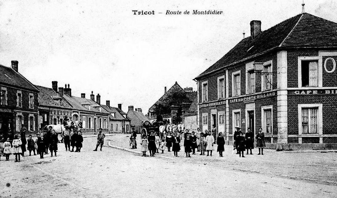 Album - le village de Tricot (Oise), les rues