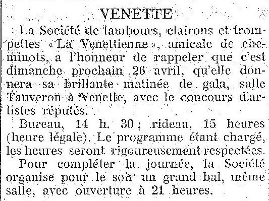 Album - le village de Venette (Oise), au fil des mois au cours des années 1800 et 1900