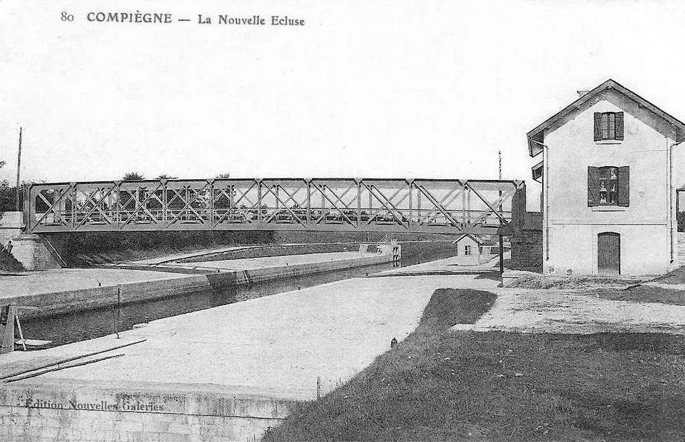 Album - le village de Venette (Oise), le barrage, l'écluse, la riviére, le canal