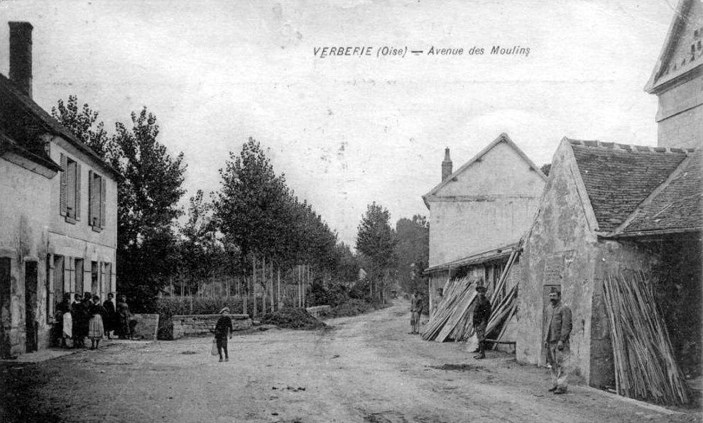 Album - le village de Verberie (Oise), les rues et routes