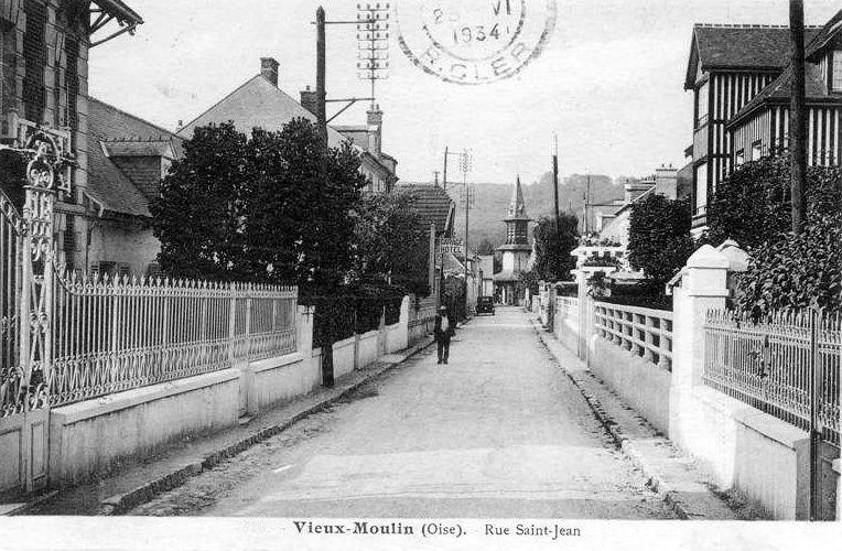 Album - le village de Vieux Moulin (Oise), les rues